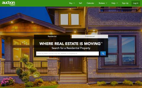 Auction.com: Real Estate Auctions for Homes and Commercial Real Estate