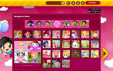 Screenshot of Team Page girlgamesko.com - Management | Girl Games - captured Oct. 31, 2014