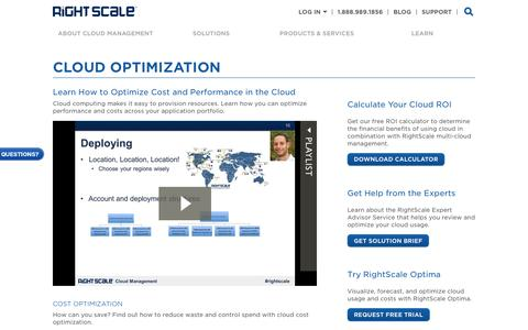 Learn About Cloud Optimization | RightScale