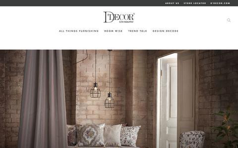 Screenshot of Blog ddecor.com - Blog - captured Sept. 20, 2017