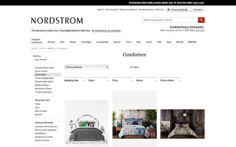 Comforters & Comforter Sets   Nordstrom