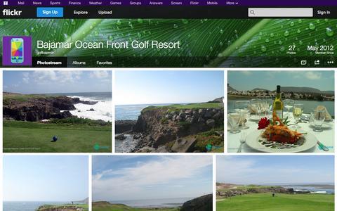 Screenshot of Flickr Page flickr.com - Flickr: golfbajamar's Photostream - captured Oct. 23, 2014