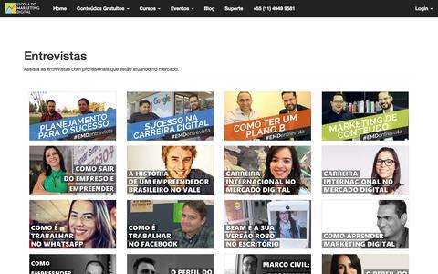Entrevistas | Escola do Marketing Digital