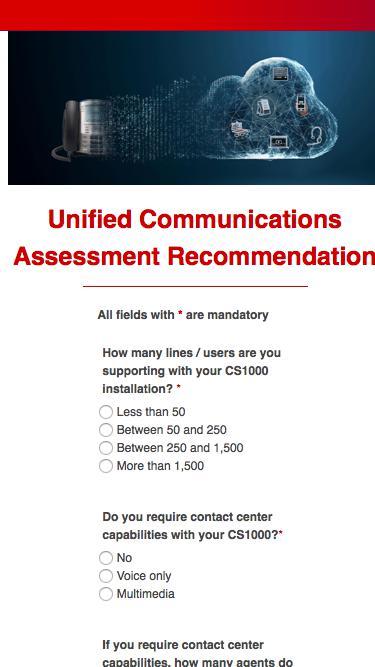 Unified Communications Assessment Recommendation   Avaya Communication Server 1000 Loyalty2gether