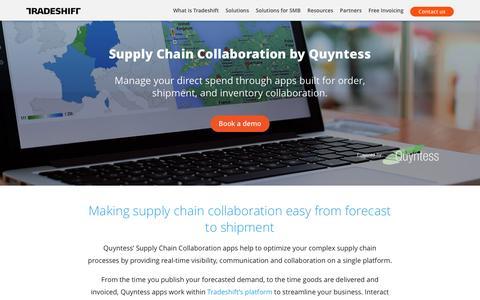 Quyntess + Tradeshift Platform