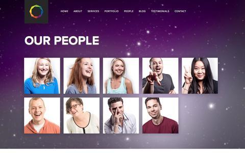 Screenshot of Team Page arraystudios.com - Array Studios - Our Web Experts: Website Design, Development & Marketing - captured Oct. 4, 2014