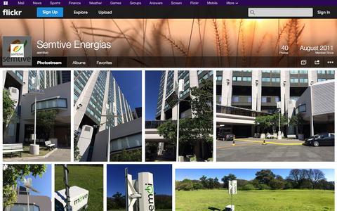 Screenshot of Flickr Page flickr.com - Flickr: semtive's Photostream - captured Oct. 26, 2014