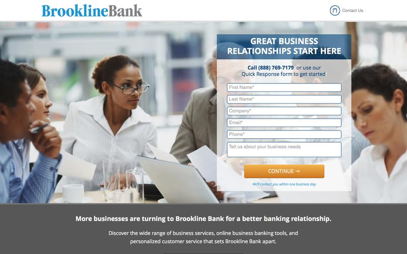 Brookline Bank | Business Banking