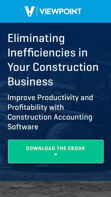 Eliminating Inefficiencies in Your Construction Business