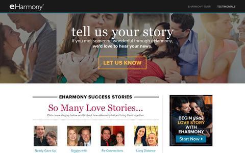 eharmony testimonials