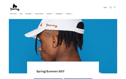 Spring/Summer 2017 — MONEY