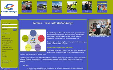 Screenshot of Jobs Page carterenergy.com - CarterEnergy - captured Dec. 2, 2016