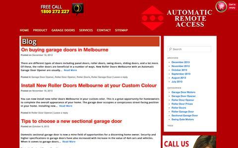 Screenshot of Blog araccess.com.au - Blog | - captured Oct. 4, 2014