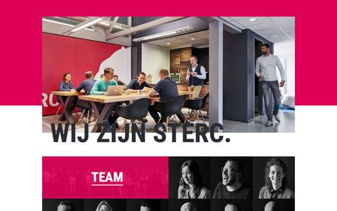 Screenshot of Team Page sterc.nl - Ons team | Sterc - captured Sept. 21, 2018