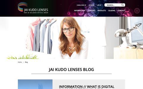 Screenshot of Blog jaikudo.com - Jai Kudo Lenses Blog - captured Sept. 25, 2018