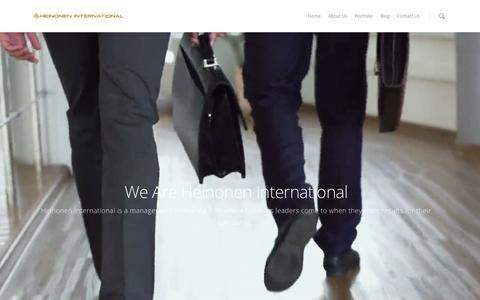 Screenshot of Jobs Page heinoneninternational.com - Careers - Heinonen International - captured July 4, 2015