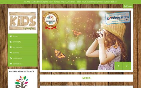 Screenshot of Press Page kidselc.com.au - Media - Kids ELC - Kids ELC - captured Nov. 27, 2016