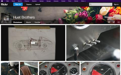 Screenshot of Flickr Page flickr.com - Flickr: Huet Brothers' Photostream - captured Oct. 23, 2014