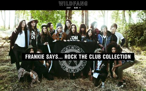 Screenshot of Blog wildfang.com - Wildfang Blog - captured Sept. 17, 2014