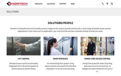 Screenshot of Team Page nortechcontrol.com - People | Nortech Control Systems Ltd - captured Feb. 25, 2016