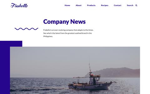Screenshot of Press Page frabelle.com - Company News - Frabelle Group of Companies - captured Oct. 11, 2018