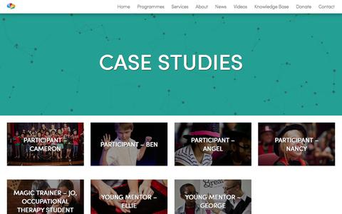 Screenshot of Case Studies Page breatheahr.org - Case Studies Archives - Breathe AHR - captured Nov. 23, 2016