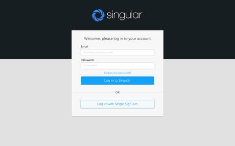 Login :: Singular