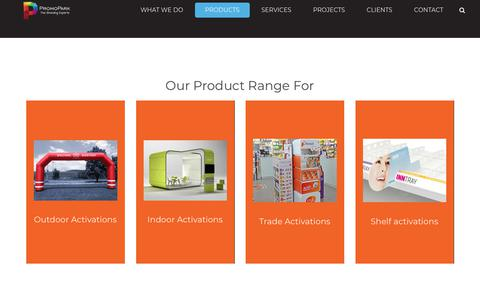 Screenshot of Products Page promopark.gr - Products – Promopark The Branding Experts - captured Dec. 21, 2017