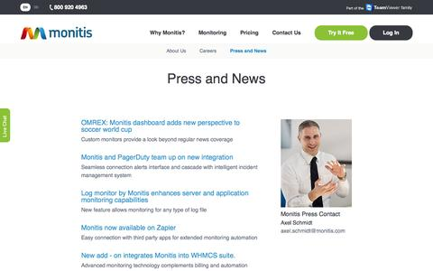 Press and News - Monitis