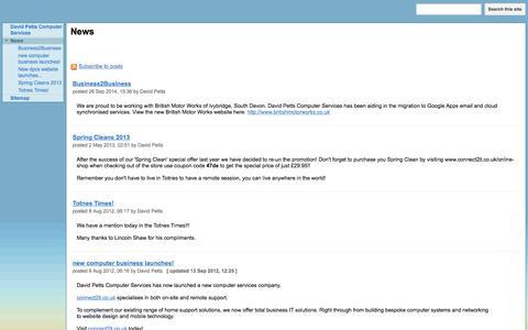 Screenshot of Press Page google.com - News - Computer Repairs Totnes, Ashburton, Newton Abbot - captured Nov. 23, 2016