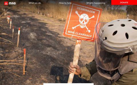 Screenshot of Press Page maginternational.org - Press room | MAG - captured Nov. 2, 2018