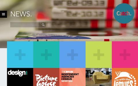 Screenshot of Press Page catchdigital.com - News. | Catch Digital: Digital Marketing Agency London. - captured July 19, 2015