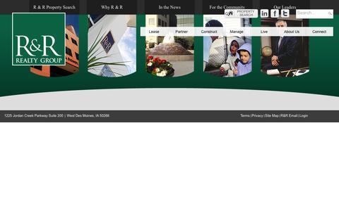 Screenshot of Login Page rrrealty.com - User Log In - captured Feb. 27, 2016