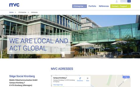 Screenshot of Locations Page mvc.de - MVC - Locations - captured May 25, 2017