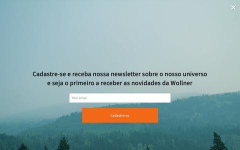 Screenshot of Blog wollner.com.br - Blog Wollner: Novo Universo Outdoor - captured Nov. 5, 2017