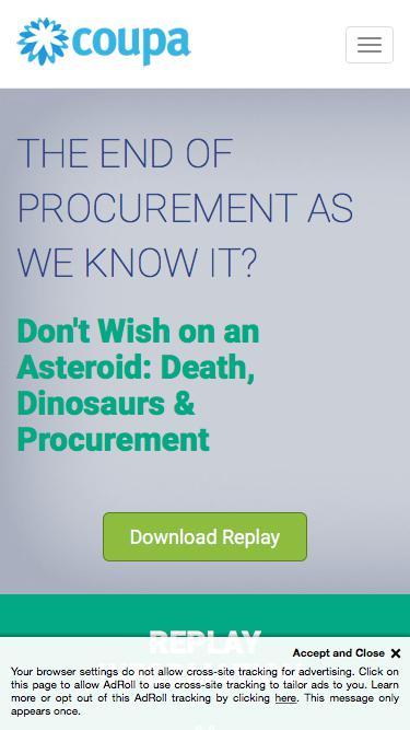 Death of Procurement - Webinar Replay