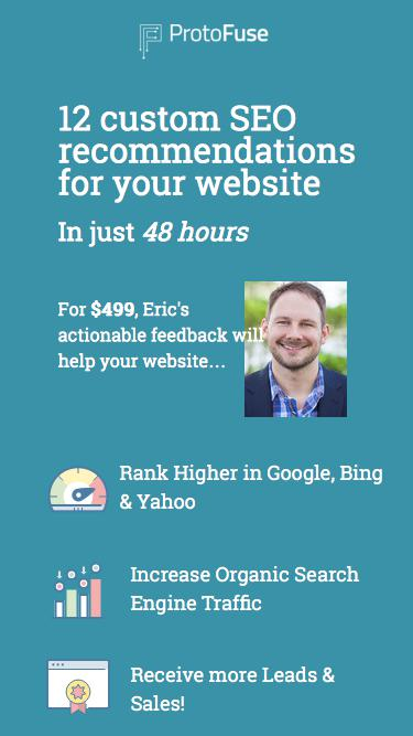 12 Custom SEO Recommendations for your Website