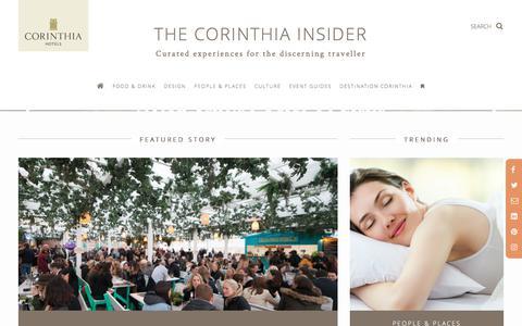 The Corinthia Insider