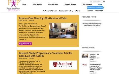 Screenshot of Blog php.com - phpsanjose   Blog - captured Sept. 6, 2016
