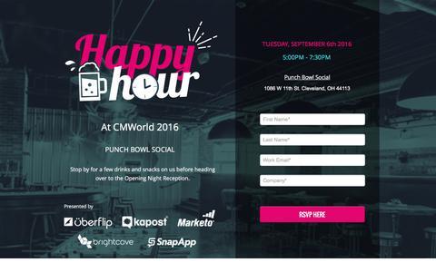 Screenshot of Landing Page uberflip.com captured Oct. 20, 2016