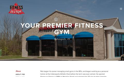 Screenshot of Hours Page fbdindy.com - About FBD — Fitness By Design | Indianapolis - captured Oct. 14, 2017