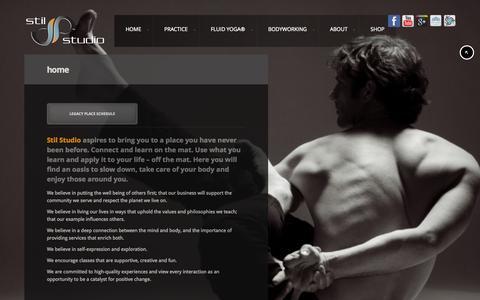 Screenshot of Home Page stilstudio.com - - Stil Studio - captured Oct. 7, 2014