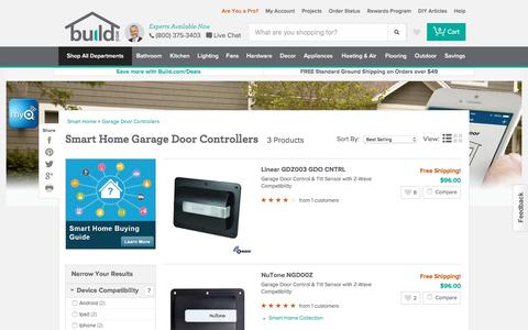 Smart Home Garage Door Controllers @ Build.com