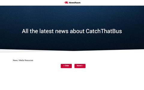 Screenshot of Press Page catchthatbus.com - All the latest news about CatchThatBus - captured Nov. 27, 2017
