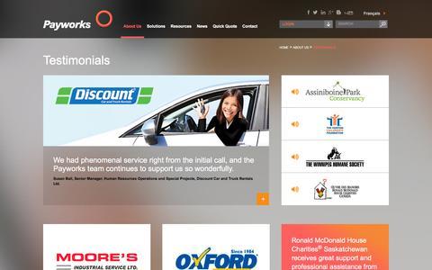Customer Testimonials | Payworks