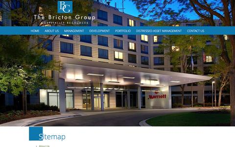 Screenshot of Site Map Page bricton.com - The Bricton Group Sitemap | Mount Prospect, IL - captured Feb. 8, 2016