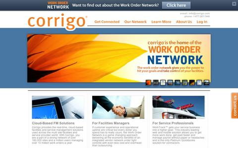 Corrigo | Cloud Based Facilities Maintenance and Work Dispatch Solutions