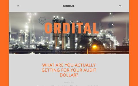 Screenshot of Blog ordital.com - Blog — ORDITAL - captured Sept. 30, 2014