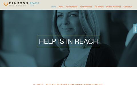 Screenshot of Home Page reach-eap.com - Reach EAP - captured Jan. 21, 2017