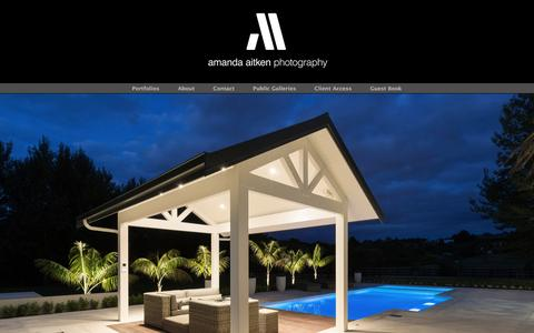 Screenshot of Home Page aaphotography.co.nz - Tauranga Photographer specialising in Architectural, Interior and Commercial Photography. - captured June 16, 2016